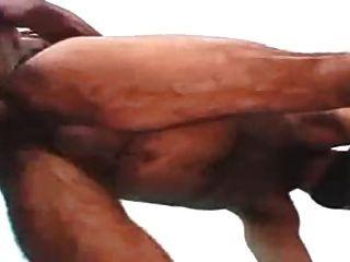 Big Bear Dad Italian Hairy Fucked By Black Dad