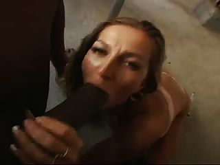 Horny Housewife Sucks Black Cock Pov