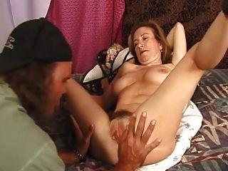 Mom Shaving Her Big Pussy