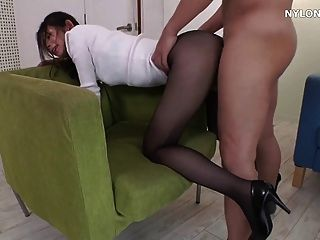 Nylons and high heels sex tubes