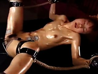 Japanese Girl Fucked To Orgasms By Electro-stimulation