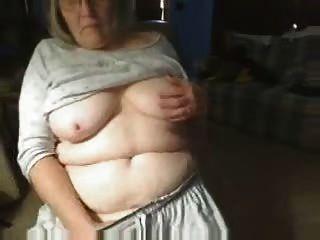Kinky Grandma Having Fun On Web Cam