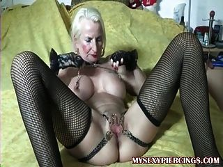 Allysin chains fucked on bail of hay - 1 part 3