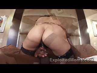 Amateur 40yr Old Native American Indian Mom 1st Video