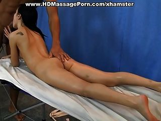 Hard Anal Fuck At Naked Massage