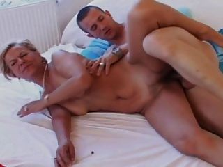 blonde man and blonde woman missionary sex