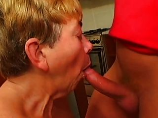 Saggy Breasts Granny Toys And Fucks