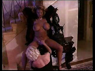 Sarenna Lees Big Titted Lesbo Affair