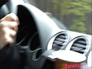 Do Not Try This... Orgasm While Driving