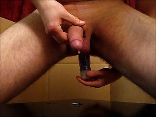 Prostate Milking With Big Cumshot
