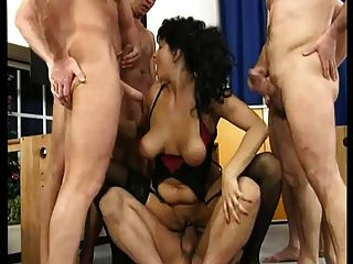 Teacher gangbang videos