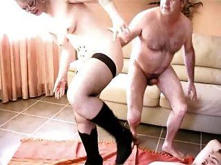 Baise Entre Amis, Steph Debar French Blonde In Gangbang