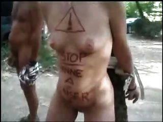 Public Sex In A Camping