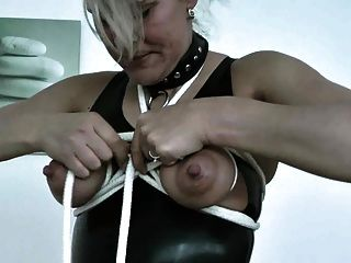 Mature Extrem Tits Bondage And Nipple