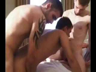 Three Guys Barebacking