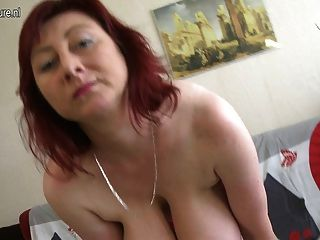 Hot Mother Loves To Show Off Her Super Rack