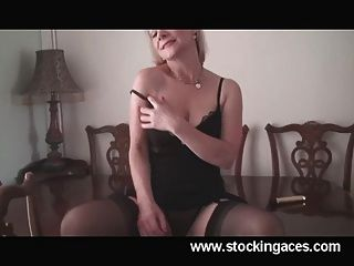 Hot Milf Tiffany Office Break Pussy Play