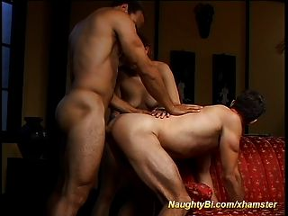 Latin Doll Shares Cock With Bisexuals