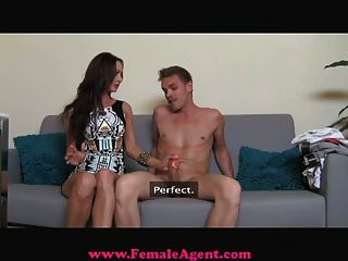 Femaleagent - Milf Exploits Shy Guy In Casting