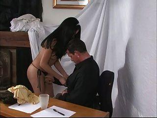 Ts Nailing Her Boss!