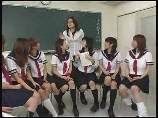 Japanese Teacher Presents Sex Ed - Lesson 1