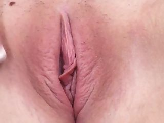 Blonde Corelle Big Pink Tits Shave Pink Pussy Masturbates