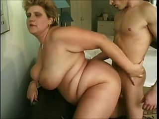 Young Guy And Old Bbw