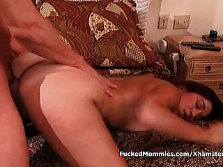 Mommy Suck And Ride Anally A Giant Cock For Facial Sperm