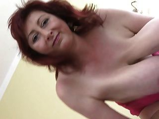 Chubby redhead video11 tit hanging first try 1