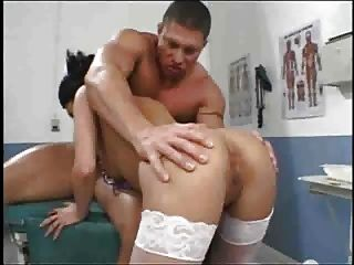 Amazing Asian Nurse Recommend Her Pussy To Make Him Feel Better