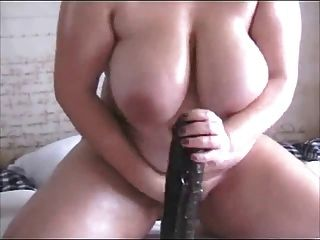 Bbw huge dildo tube