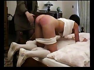 Dometria cruel upside down bullwhip punishment 4