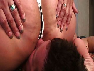 Facesitting Slave With Chubby Sexy Ass