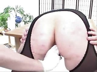 Mature Suspender Tights Pantyhose Anal Stretch