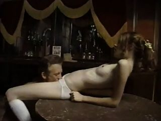 Old Cowboy Fuck Innocent Young Girl In The Bar