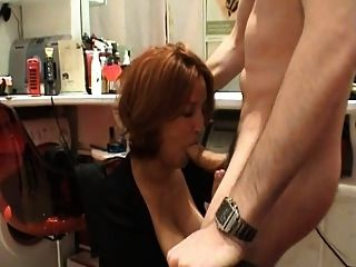 fucked hairdresser gets Sexy blonde