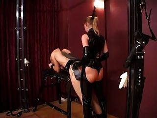 Lady Stella And Silvia Fucking Slaves