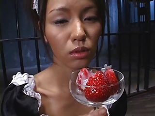 Food - Japanese Starwberry With Cum