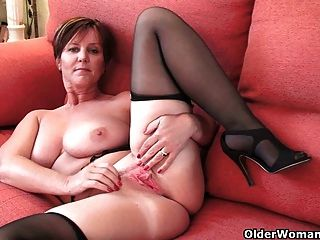 British Milf Joy Exposing Her Big Tits And Hot Fanny
