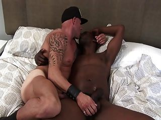 A Slut Is Raw Fucked By Big Black Cock