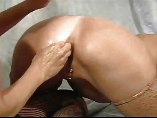 Lesbians Fisting Ass. Extreme