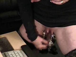 Pervert Grandma With Huge Clit. Weird Sex