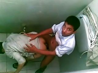Arab Boys Public Toilet