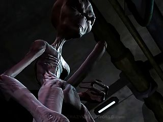 3d Animation: Alien 1
