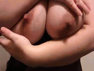 Milf Lateshay Floppy Saggy Lactating 36 G Tits