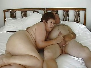 Mature Exhibitionist Couple Masturbating With Small Dildo