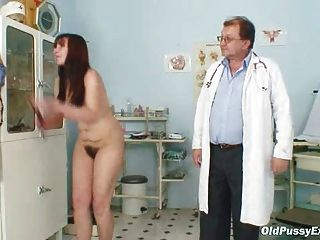 watching wife naked doctor exams videos