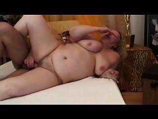 Big Granny Sucks And Fucks