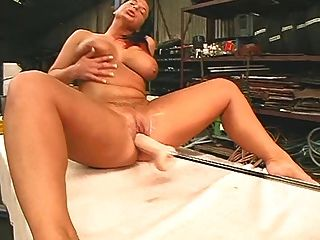 Milton twins dildo machine orgasm 7