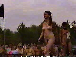 Nudist Contest
